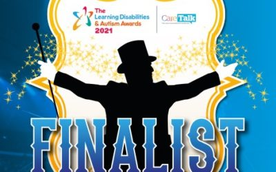 Finalist in The National Learning Disabilities & Autism Awards 2021 – Advance